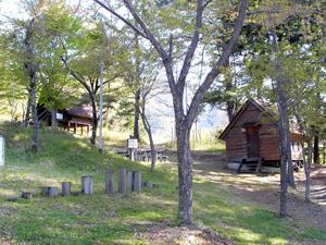 硯の里キャンプ場の様子